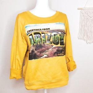 Love Peace & Lazy Days   🏜 Arizona Sweatshirt